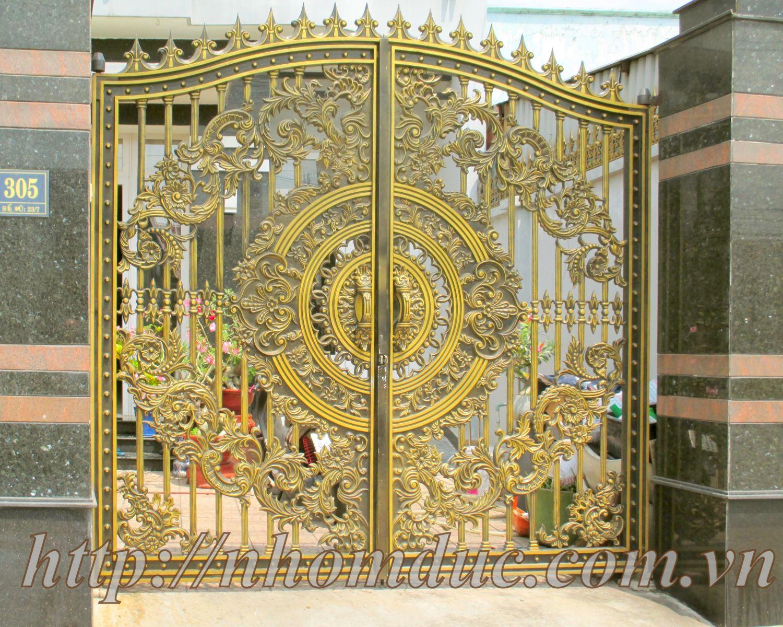 ó nhiều yếu tố ảnh hưởng đến giá thành cổng nhôm đúc hợp kim, mẫu mã cổng