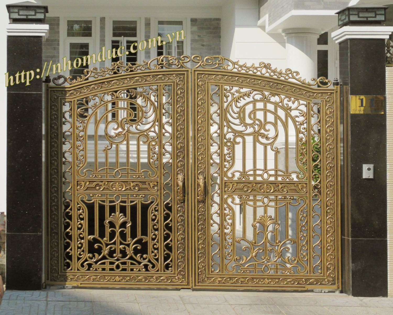 Cửa cổng nhôm đúc giá rẻ 280.000VNĐ/kg