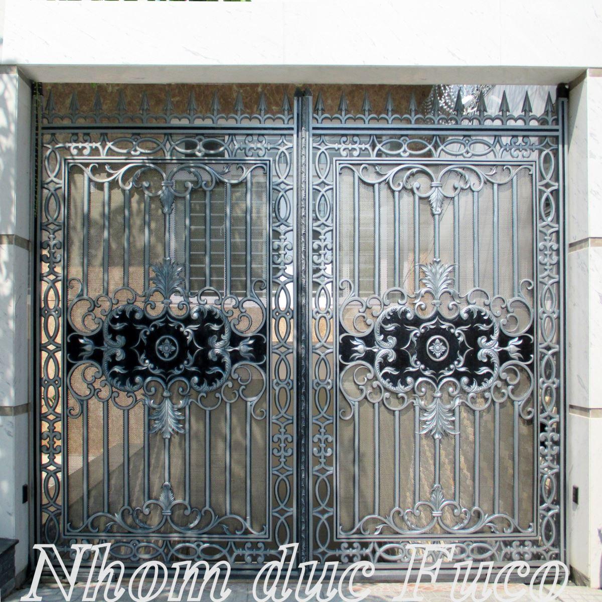 Nơi mua cổng nhôm đúc chính hãng, chất lượng, giá rẻ nhất