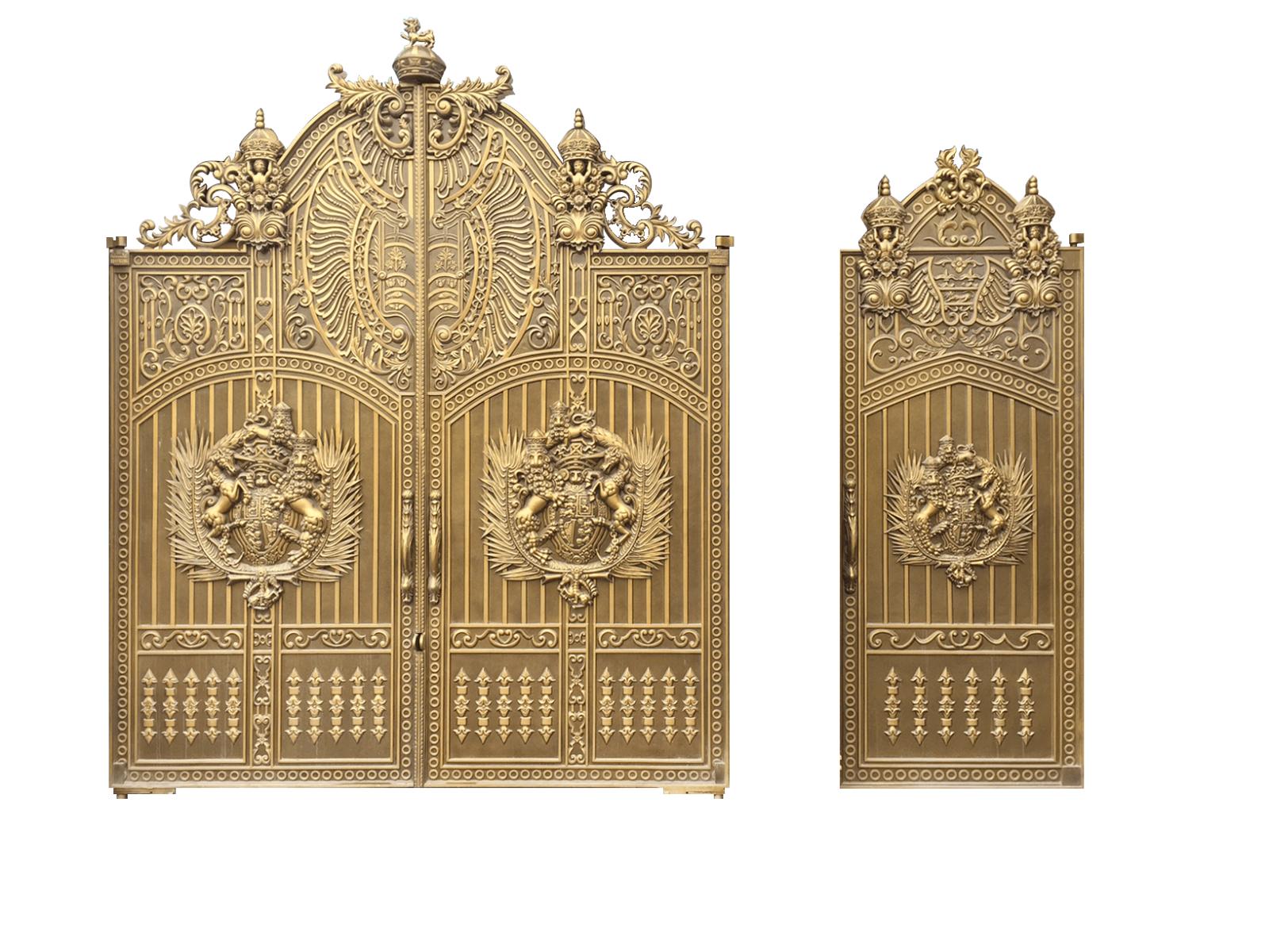Cửa nhôm đúc, Là Loại cửa đúc bằng hợp kim nhôm, bền đẹp,mẫu mã sang trọng