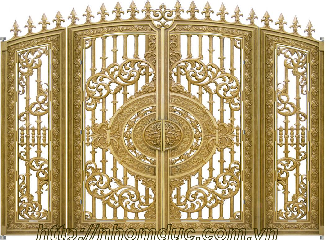 Giá cổng nhôm đúc tại Hải Phòng, Cổng nhôm đúc
