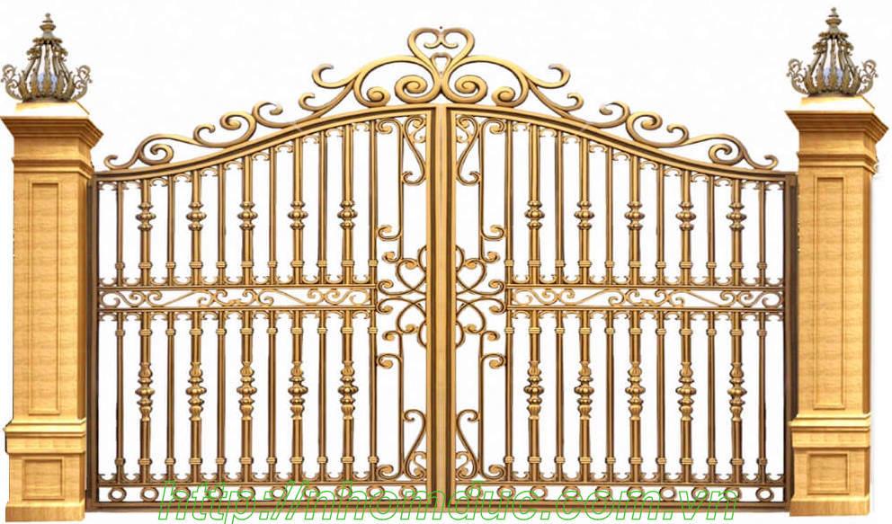 Giá cổng nhôm đúc tại Hải Phòng