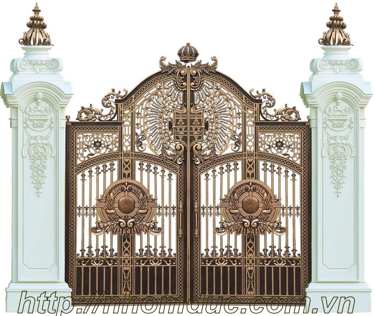 Giá cổng nhôm đúc tại hải phòng, báo giá cổng nhôm đúc, báo giá cửa nhôm đúc. Các sản phẩm hàng rào, lan can, cầu thang, bông gió nhôm đúc, bàn ghế