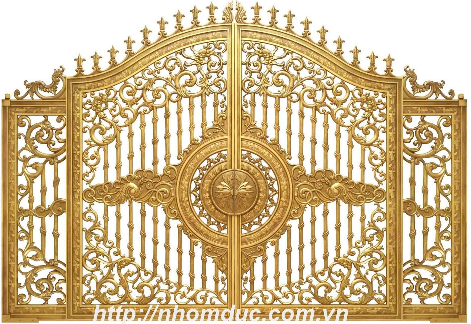 Sản xuất cổng nhôm đúc hàng đầu ở tại Hải Phòng với chất lượng tốt nhất