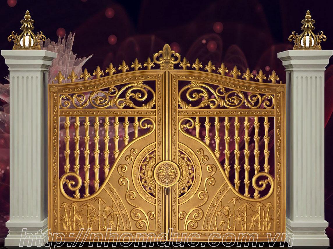 Cửa cổng nhôm đúc tại Hải Phòng, Báo giá bông gió nhôm đúc