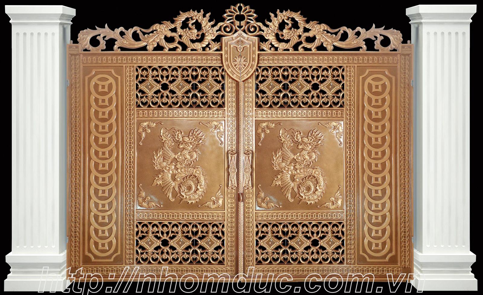 Cửa cổng nhôm đúc tại Hải Phòng. Cửa cổng nhôm đúc tại Hải Phòng, cty Fuco chuyên sản xuất, phân phối các sản phẩm cửa cổng nhôm
