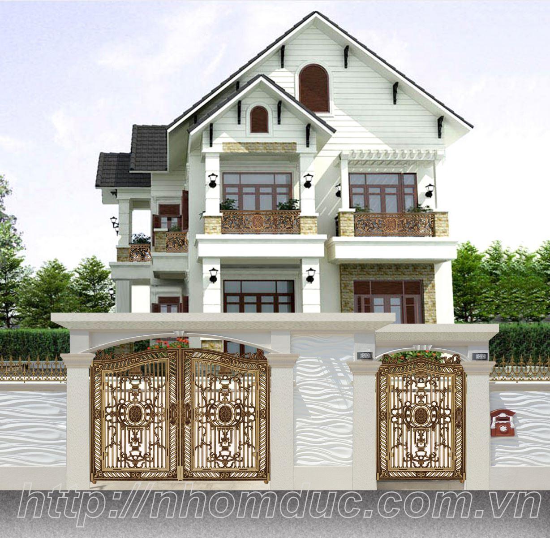 Cửa cổng nhôm đúc thành phố Hải Phòng, cty Fuco thi công công trình nhôm đúc, cửa nhôm đúc, cổng nhôm đúc, hàng rào nhôm đúc tại thành phố Hải Phòng.