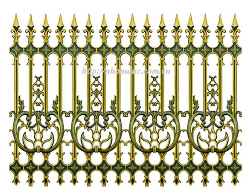 Báo giá hàng rào nhôm đúc hợp kim, giá hàng rào nhôm đúc