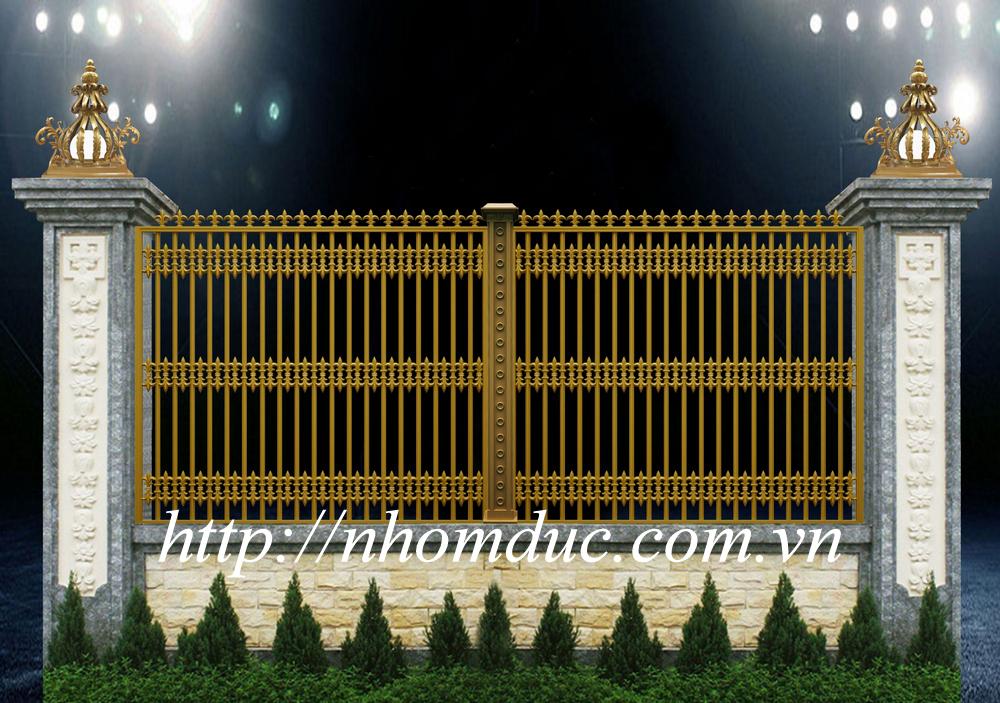 hàng rào nhôm đúc fuco