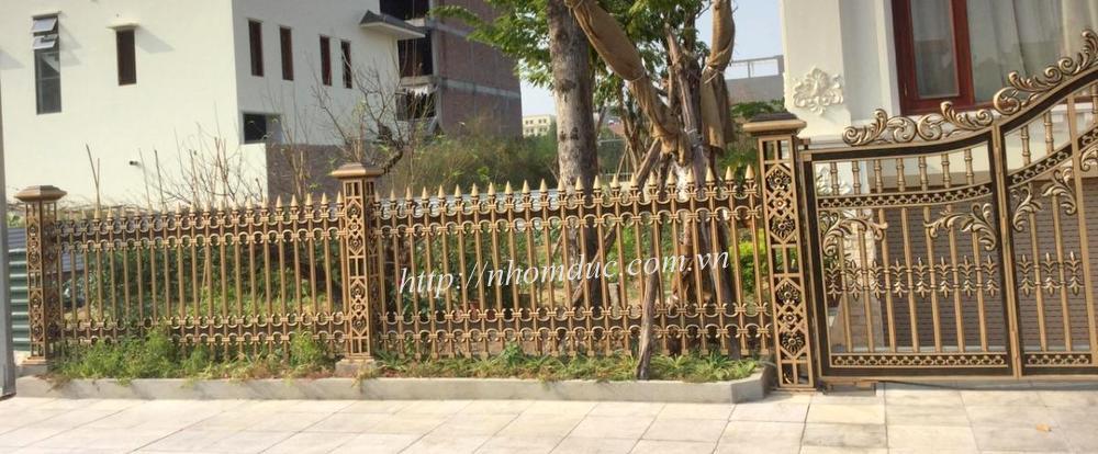 Báo giá hàng rào nhôm đúc hợp kim, hàng rào nhôm đúc, báo giá các loại hàng rào đơn giản và các loại hàng rào phức tạp có phù điêu cao cấp nhất hiện nay