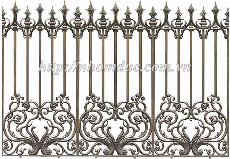 Báo giá hàng rào nhôm đúc hợp kim, giá hàng rào nhôm đúc, báo giá các loại mẫu hàng rào nhôm đúc hợp kim với nhiều mẫu mã hàng rào đa dạng nhất hiện