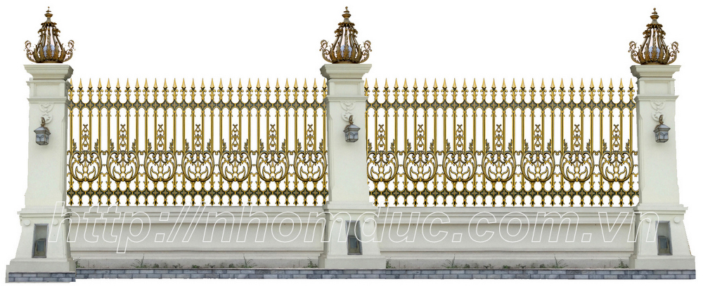 Hàng rào nhôm đúc hợp kim HR cổng nhôm đúc, cổng nhôm, lan can, cầu thang