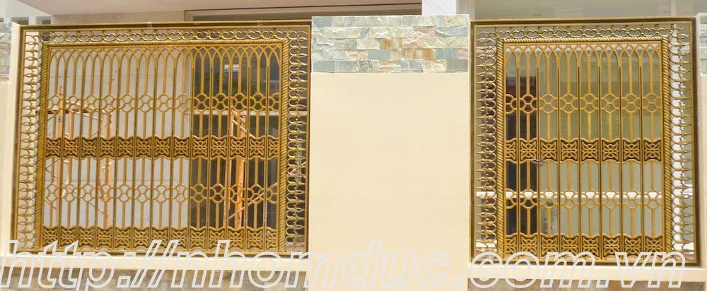 Báo giá cổng nhôm đúc Fuco, giá 200kg, Sự khác biệt giữa cổng nhôm đúc và cổng