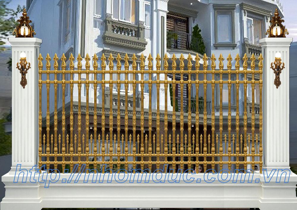 tham khảo giá hàng rào nhôm đúc trong bảng dưới đây