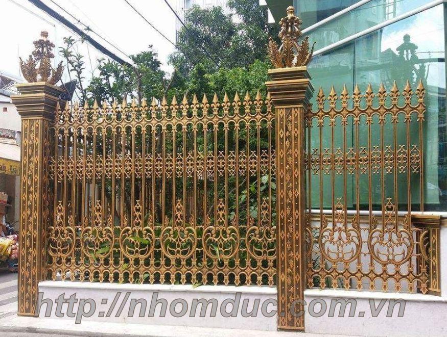 Báo giá hàng rào nhôm đúc, hàng rào hợp kim nhôm