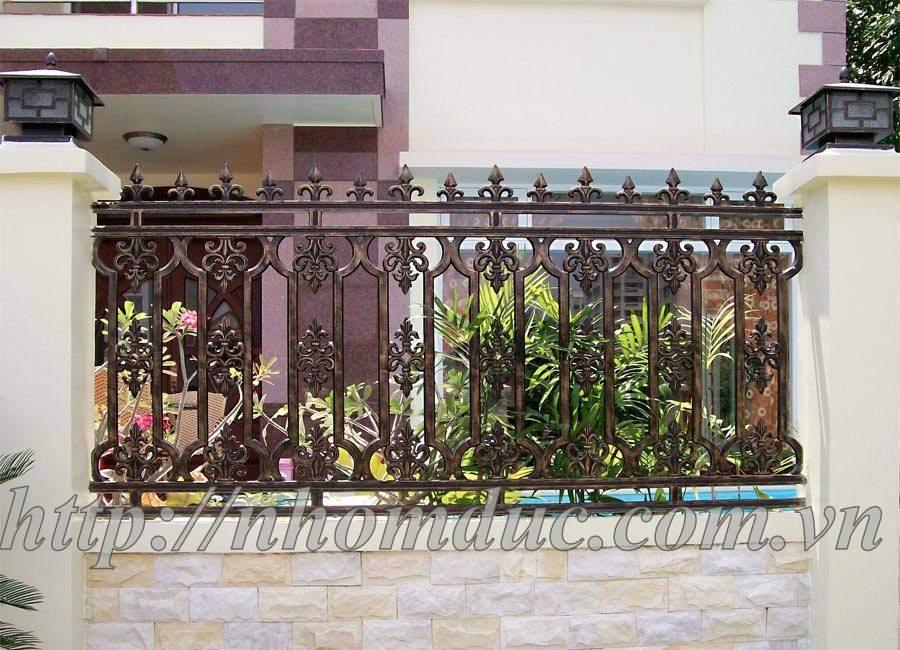 Cổng đúc hoa văn hợp kim nhôm đố Inox,Cửa đi,Hàng Rào, Sản xuất Cầu thang Báo giá nhôm đúc