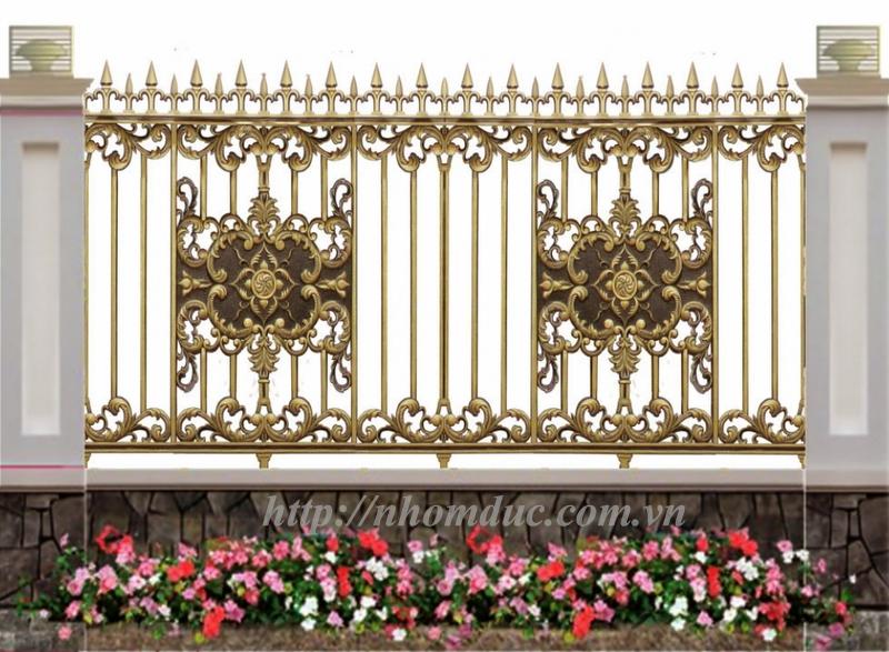 hàng rào nhôm đúc, giá hàng rào nhôm đúc, lan can nhôm đúc