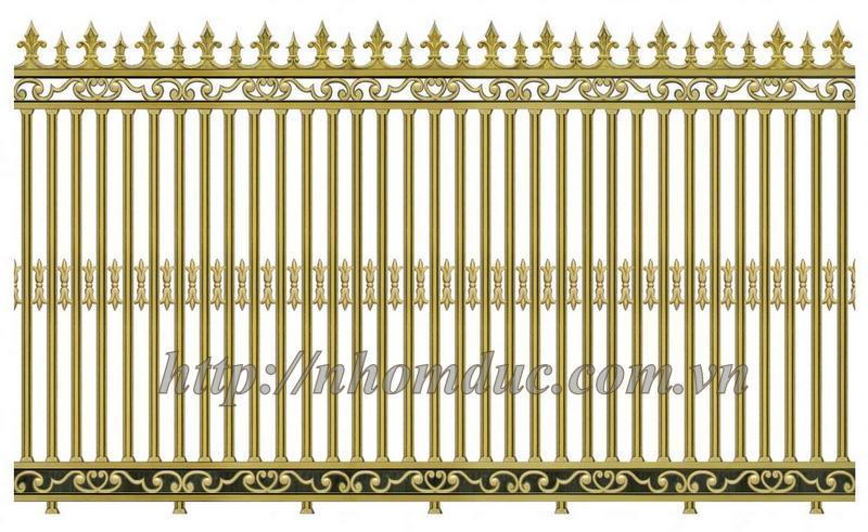 Hàng rào nhôm đúc mẫu, Cổng nhôm đúc
