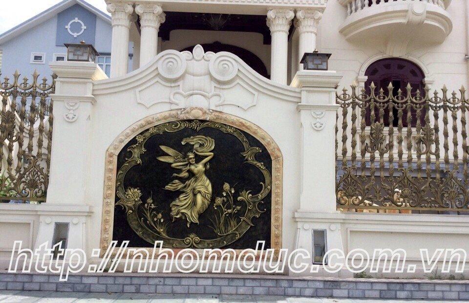 Lắp Đặt Cổng Hàng Rào Nhôm Đúc Đẹp Tại Thành Phố Hồ Chí Minh