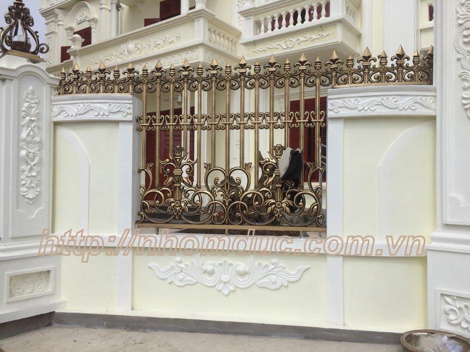 hàng rào hợp kim nhôm, giá cổng hợp kim nhôm, những mẫu cổng đẹp