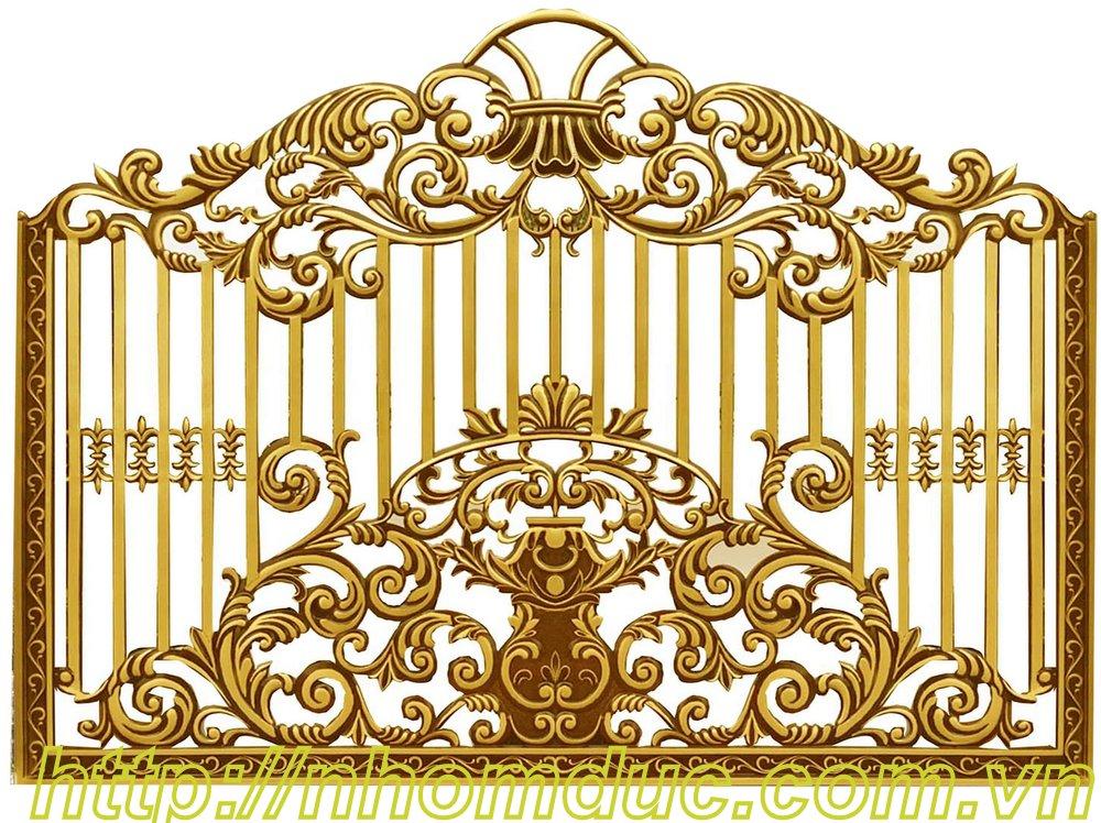 Hàng rào nhôm đúc hợp kim HR 120, Hàng rào biệt thự