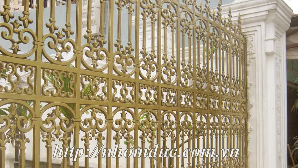 hàng rào nhôm đúc, nhôm đúc, hàng rào nhôm, nhôm đúc hà nội, cổng nhôm đúc