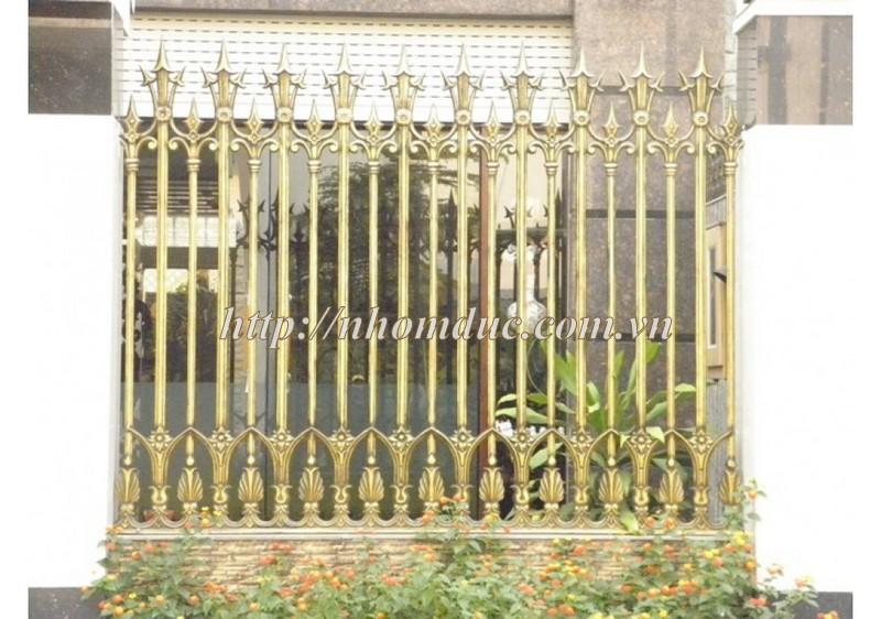 Báo giá hàng rào nhôm đúc