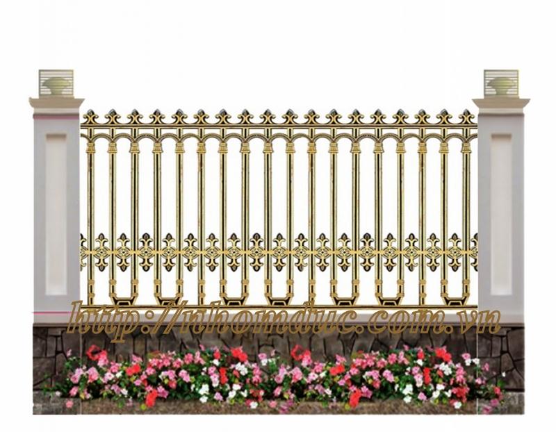 Hàng rào nhôm đúc, Hàng rào nhôm đúc đẹp nhất