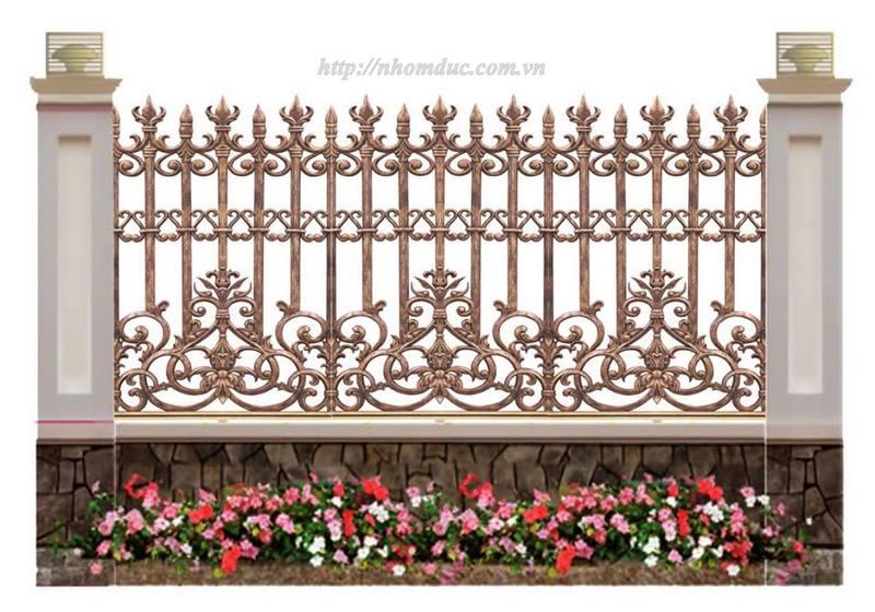 Hàng rào nhôm đúc ngày nay đang được rất nhiều người lựa chọn bởi nó không những mang lại cảm giác an toàn cho gia chủ mà còn tô thêm vẻ đẹp