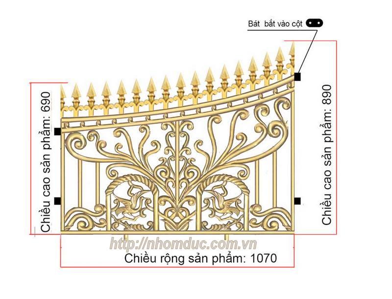 Thỏa sức lựa chọn với 60 mẫu cổng hàng rào đẹp nhất