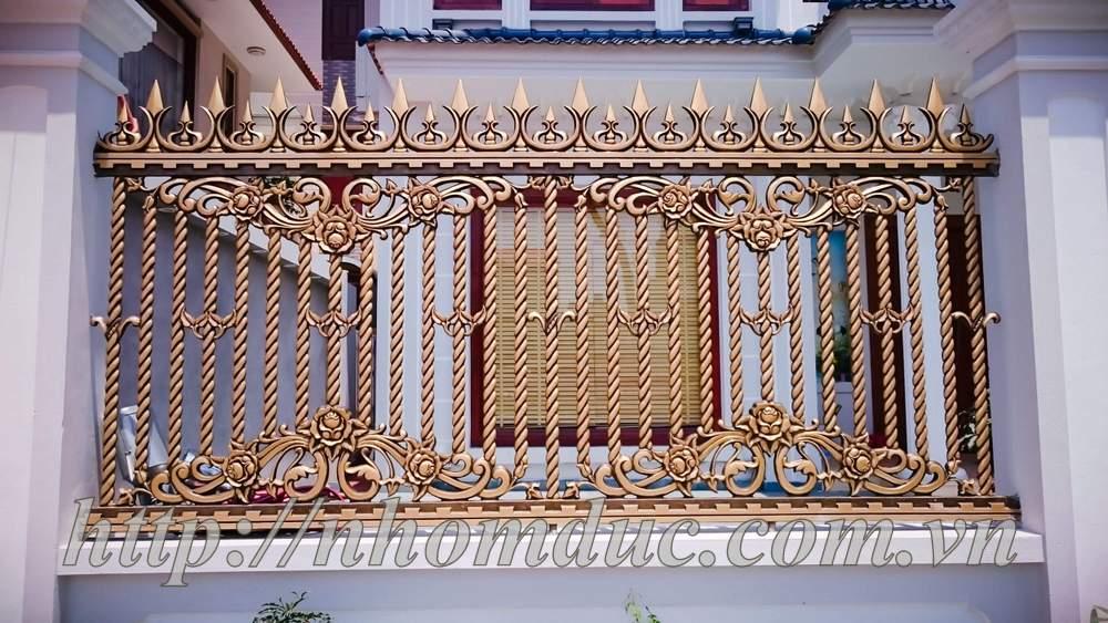 Mẫu Cổng Nhôm Đúc Đẹp 2019, Cổng Nhôm Đúc Cho Biệt Thự