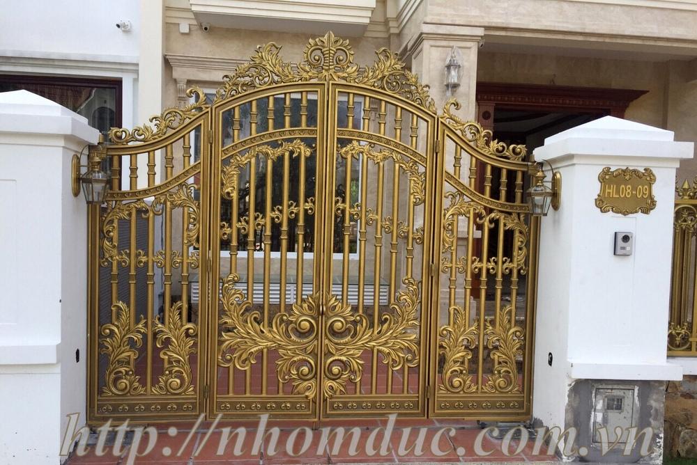 Báo giá cổng nhôm đúc và các sản phẩm hợp kim nhôm đúc