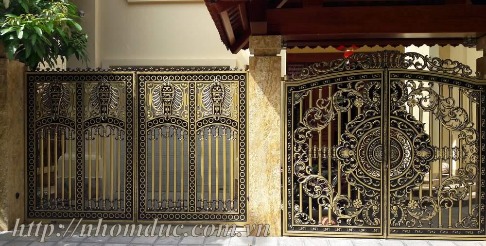 Báo Giá Cổng Nhôm Đúc Tại TpHCM, Cổng Đúc Hợp Kim Nhôm