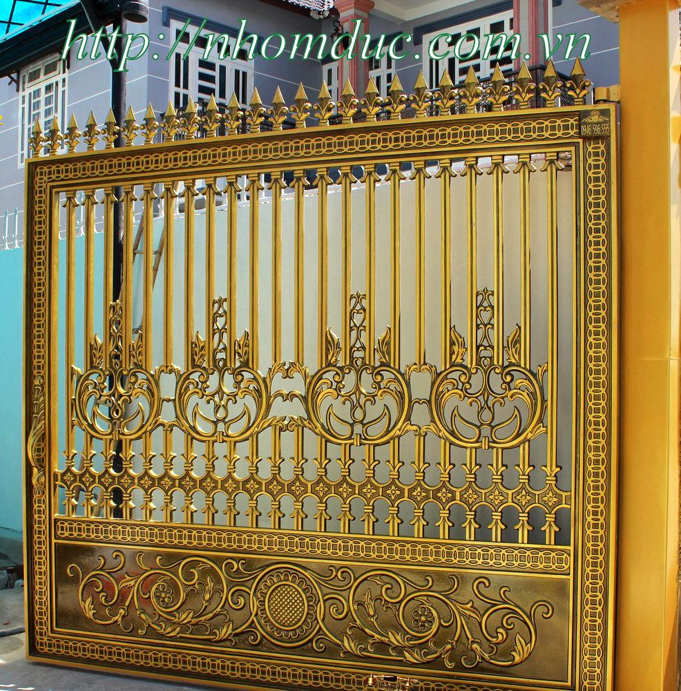 chuyên thiết kế cửa cổng nhôm đúc cao cấp uy tín, chất lượng hàng đầu Việt Nam