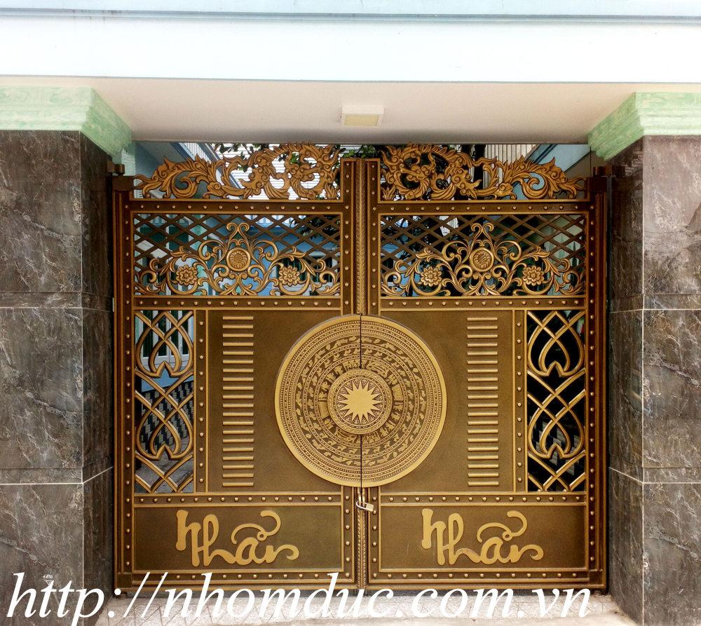 Cổng nhôm đúc quận 9 TP Hồ Chí Minh
