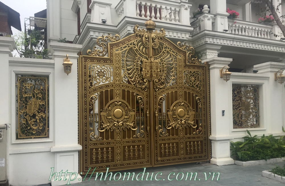Cổng nhôm đúc được ưa thích nhất tại Việt Nam