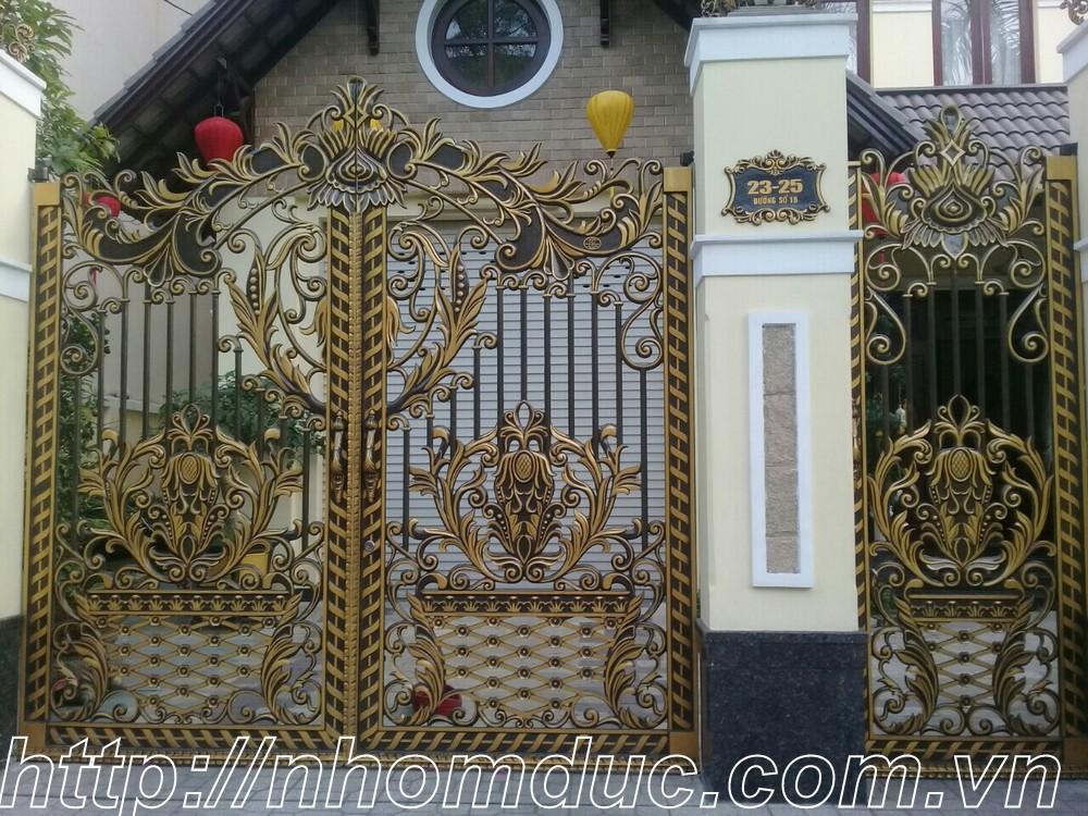 Công trình nhôm đúc tại thành phố Hồ Chí Minh, cty Fuco thi công công trình nhôm đúc, cửa nhôm đúc, cổng nhôm đúc, hàng rào nhôm đúc tại thành phố
