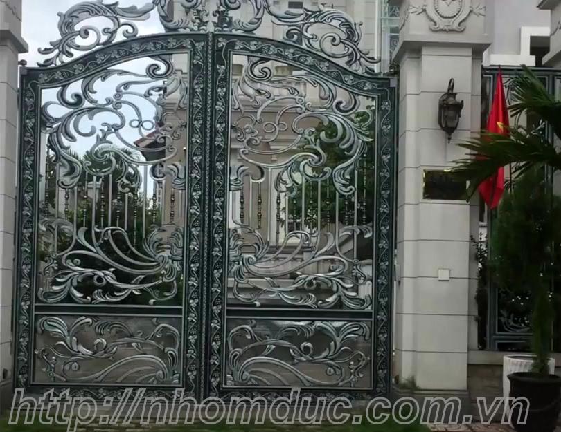 Cổng nhôm đúc Hà Nội, nhôm đúc tại Hà Nội, cua nhom duc, cong nhom duc, cửa cổng hợp kim nhôm đúc cao cấp tại Hà Nội và các tỉnh thành tại Việt Nam.