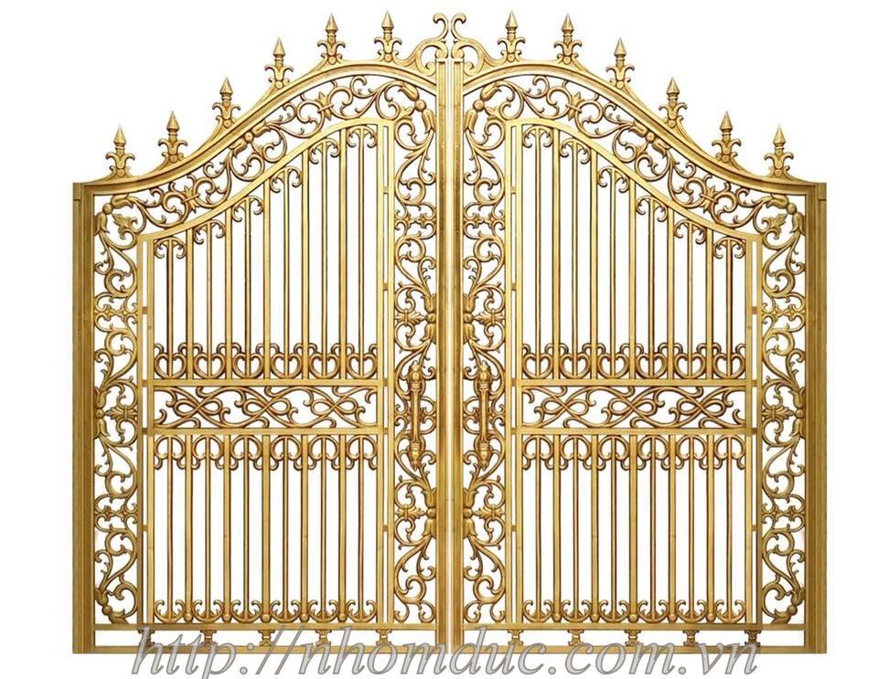 cổng nhôm đúc fuco hà nội