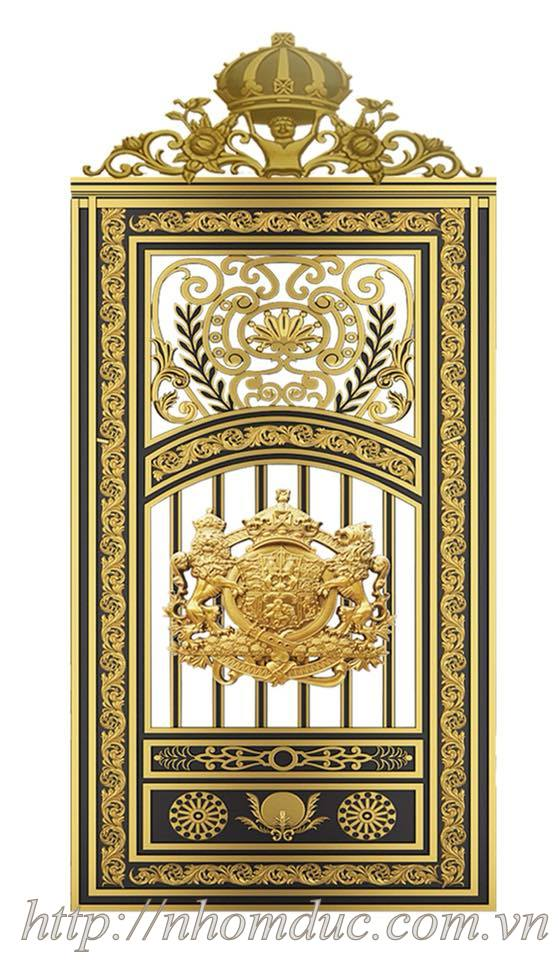 Mẫu cửa nhôm đúc GAT Hà Nội, cửa cổng nhôm đúc Fuco mẫu mã đẹp, sản xuất công nghệ Nhật Bản, sơn nhập khẩu cao cấp. Cửa cổng nhôm đúc chất lượng