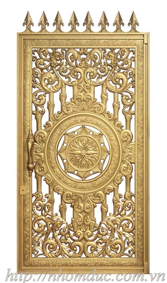 Cửa nhôm đúc, Là Loại cửa đúc bằng hợp kim nhôm, bền đẹp,mẫu mã sang trọng, cửa nhôm đúc không bị gỉ sét, không ô xi hóa. Hiện nay chất liệu hợp kim