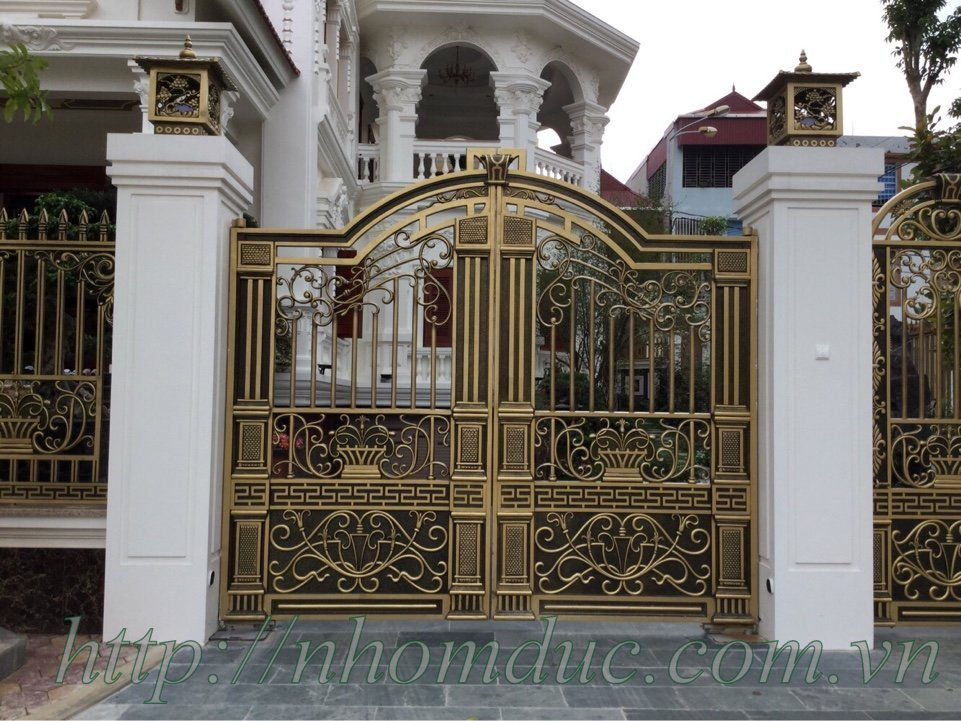 Giá cửa hợp kim nhôm đúc, Cổng nhôm đúc tại Hà Giang